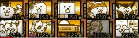 にゃんこ塔31階をネコカメラマン、ねこ魔王、ねこ仙人を使ってクリア